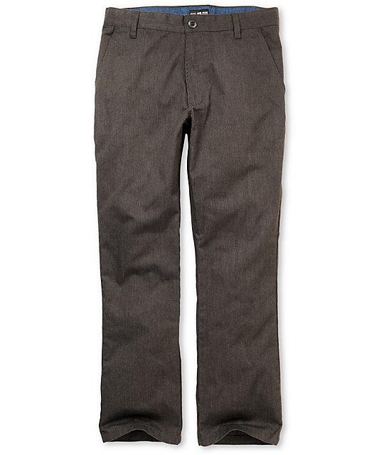 Matix Welder Charcoal Slim Fit Chino Pants