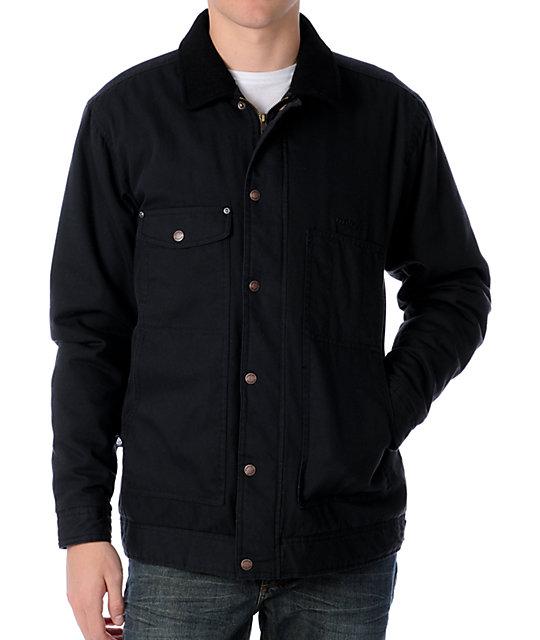 Matix Workman Black Casual Jacket