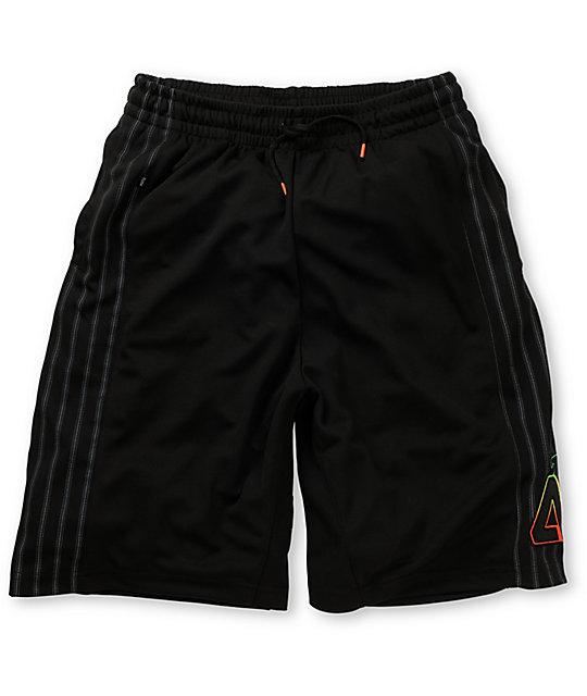 Matix Zulu Black Mesh Shorts