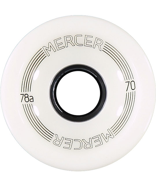 Mercer 70mm 78a Glow Longboard Wheels