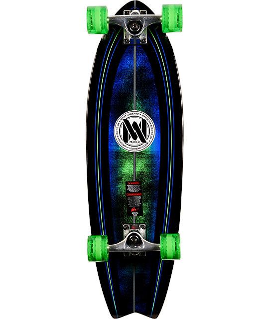"""Mercer Dark Matter 29""""  Complete Cruiser Skateboard"""