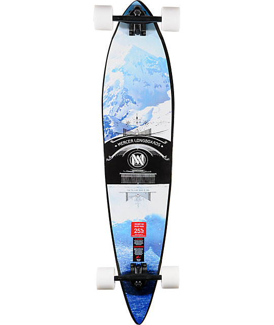 "Mercer Forecast 42""  Pintail Longboard Complete"