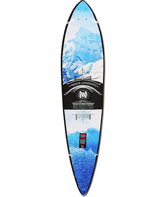 "Mercer Forecast 42""  Pintail Longboard Deck"