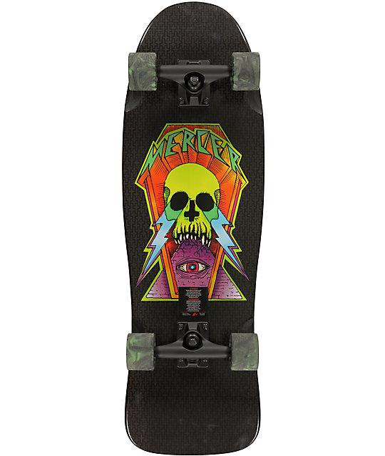 "Mercer Ghoul Old School 31.25""  Cruiser Complete Skateboard"