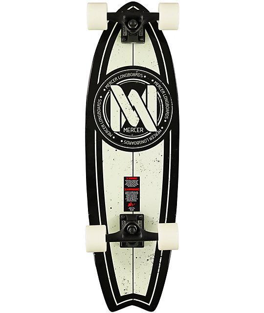 """Mercer Glowrider 29""""  Cruiser Complete Skateboard"""