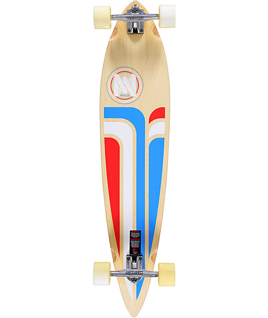 "Mercer Momentum 42""  Pintail Longboard Complete"