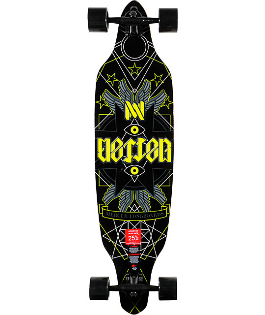 "Mercer Pendulum 39""  Drop Through Longboard Complete"