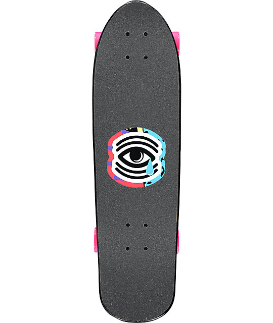 "Mercer Shred Sticker 29""  Cruiser Complete Skateboard"