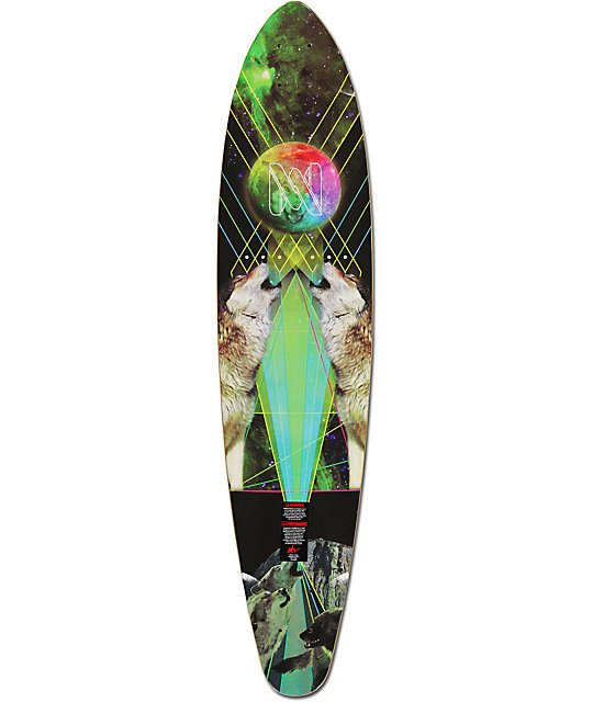 "Mercer Space Wolf 37.5""  Longboard Deck"