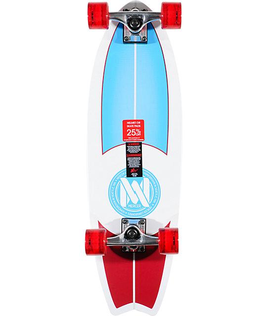 """Mercer Thruster 29""""  Complete Cruiser Skateboard"""