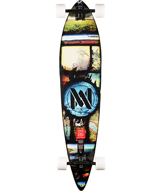 "Mercer Tour 42""  Pintail Complete Longboard"