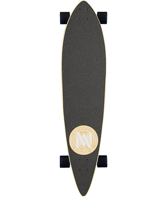 "Mercer Wavelight 42""  Pintail Longboard Complete"