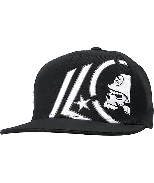 Metal Mulisha Backtrack Black Flexfit Hat