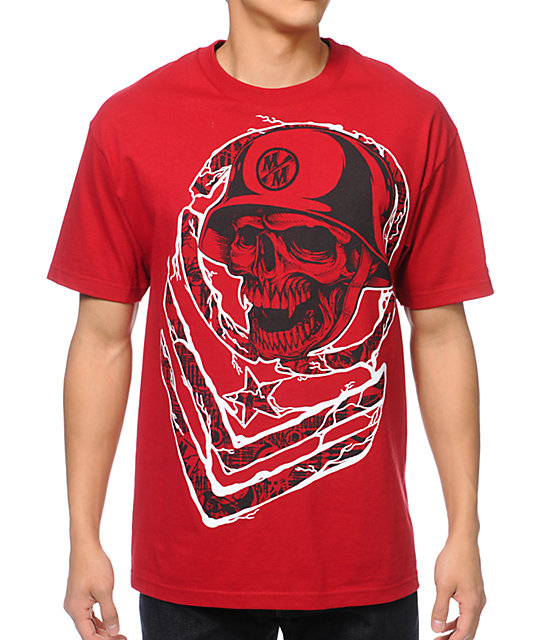 Metal Mulisha Big Moves Red T-Shirt