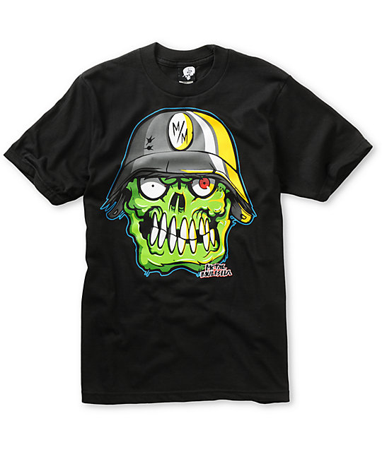 Metal Mulisha Boys Bon-Hed Black T-Shirt