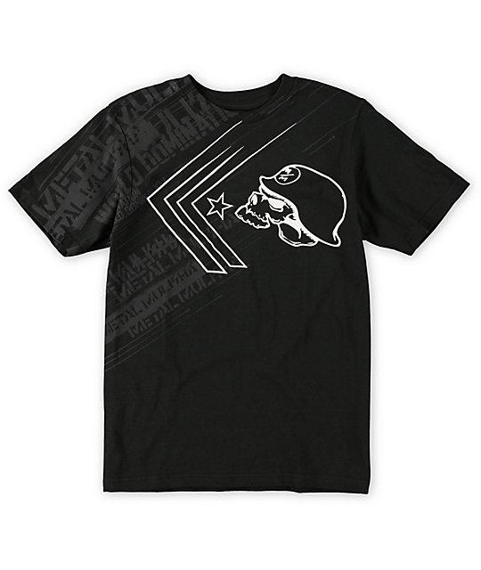 Metal Mulisha Boys Burst Black T-Shirt