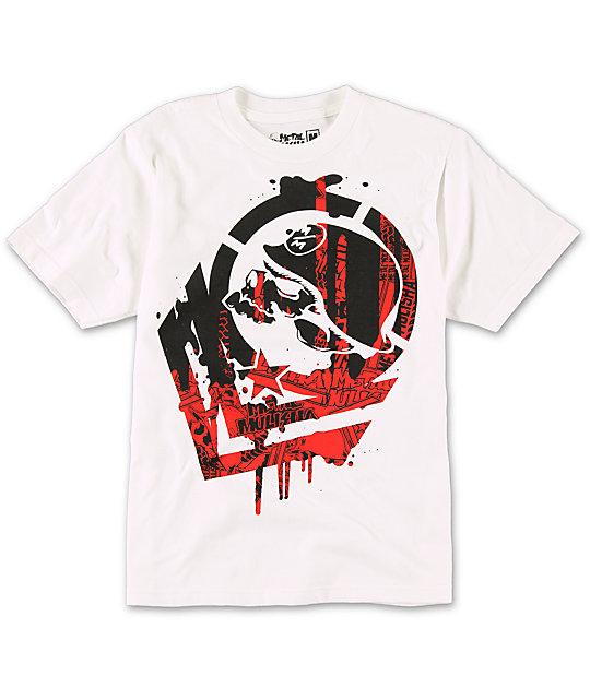 Metal Mulisha Boys Disarm White T-Shirt