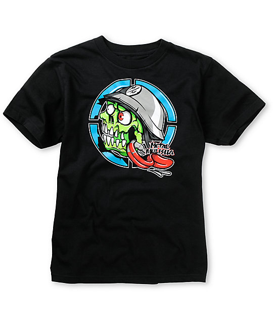 Metal Mulisha Boys Eyegore Black T-Shirt