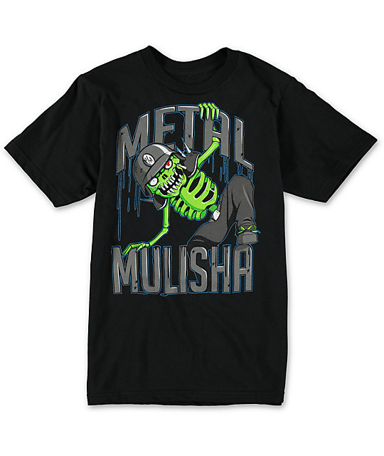 Metal Mulisha Boys Hop Fences Black T-Shirt