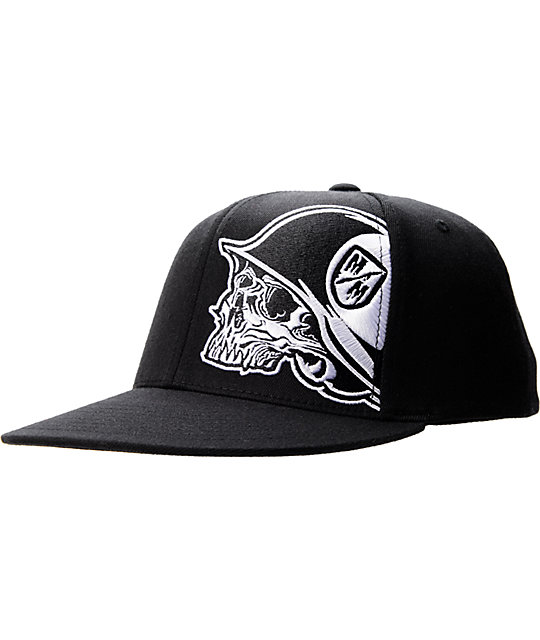 Metal Mulisha Bully Black Flexfit Hat
