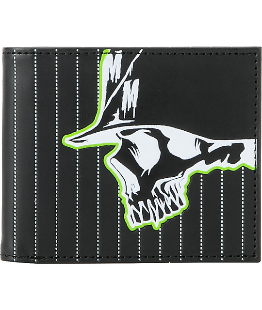 Metal Mulisha Bunk Black Bifold Wallet