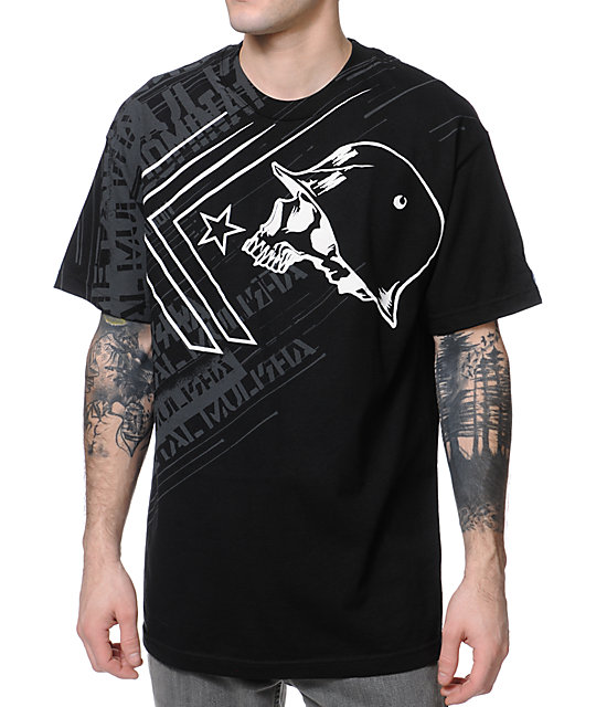 Metal Mulisha Burst Black T-Shirt