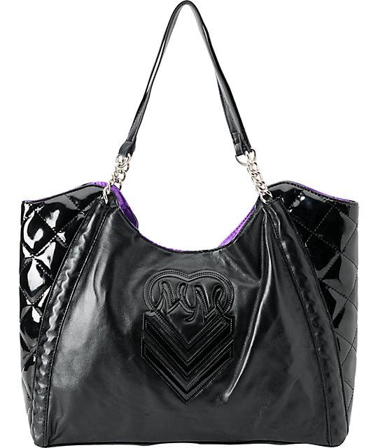Metal Mulisha Catwalk Black Purse