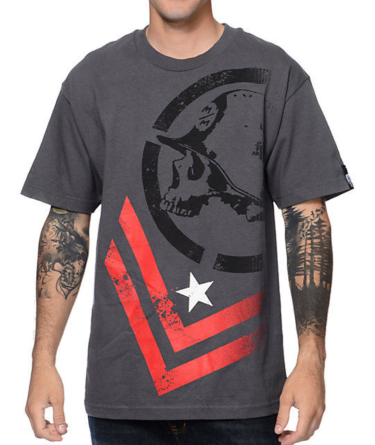 Metal Mulisha Decline Charcoal T-Shirt