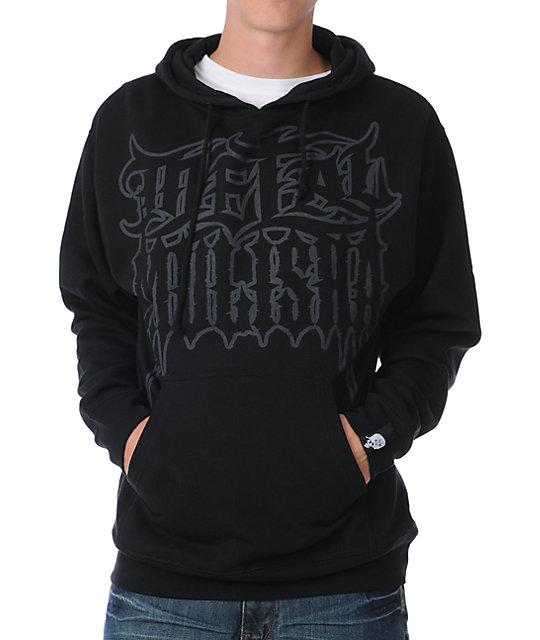 Metal Mulisha Disengage Black Pullover Hoodie