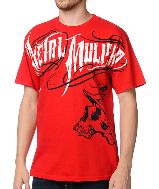 Metal Mulisha Eager Red T-Shirt