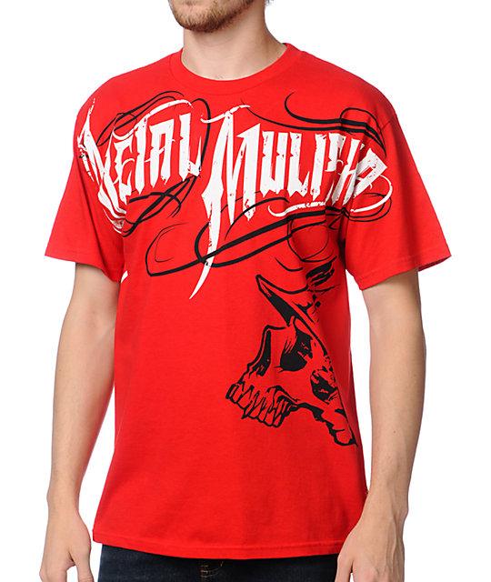 Metal Mulisha Eager Red T-Shirt