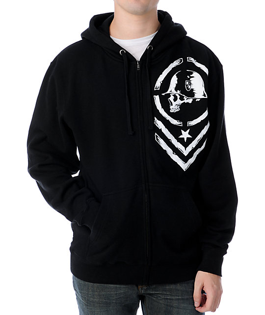 Metal Mulisha Edge Black Hoodie