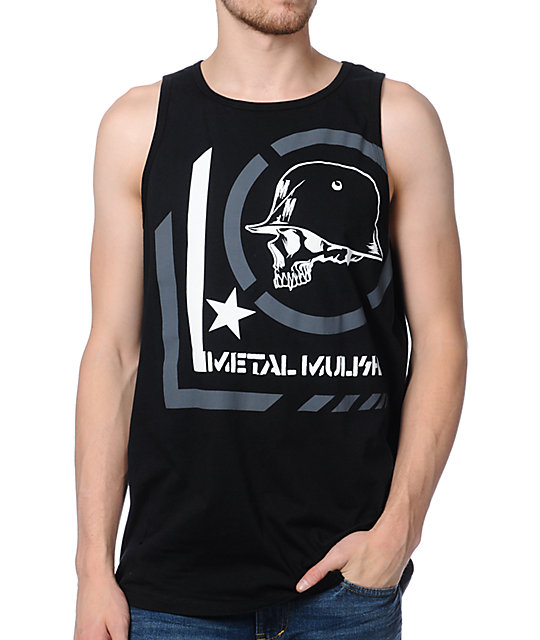 Metal Mulisha Era Black Tank Top