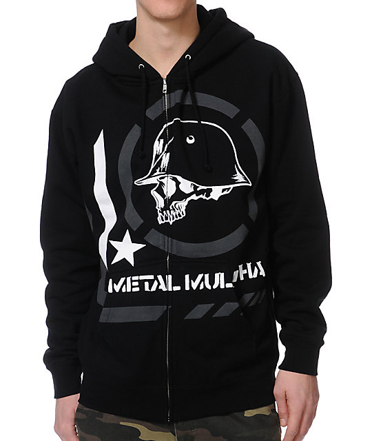 Metal Mulisha Era Black Zip Up Hoodie