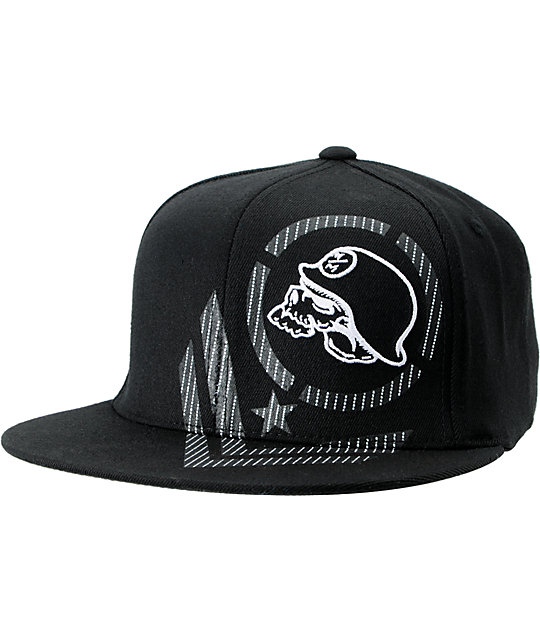 Metal Mulisha Established Black Flexfit Hat