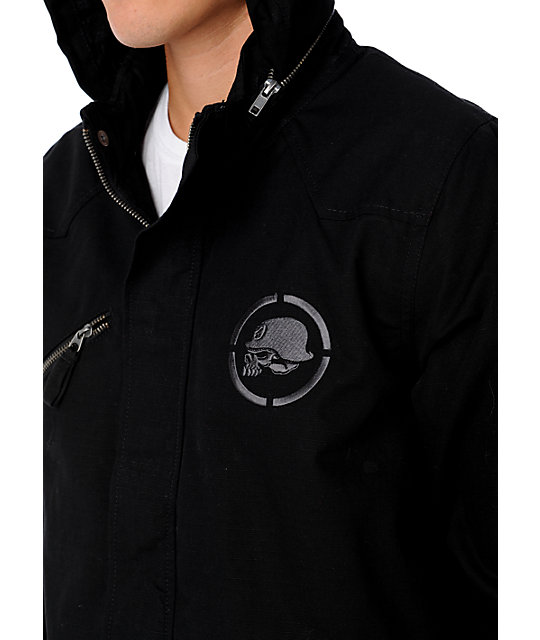 Metal Mulisha Exert Black Jacket