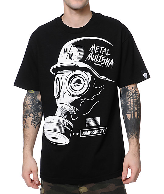 Metal Mulisha False Black T-Shirt