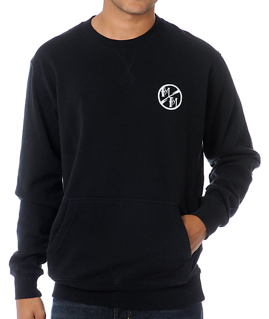 Metal Mulisha Faulter Black Crew Neck Sweatshirt