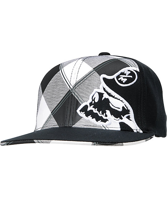Metal Mulisha Forty Five Black Flexfit Hat