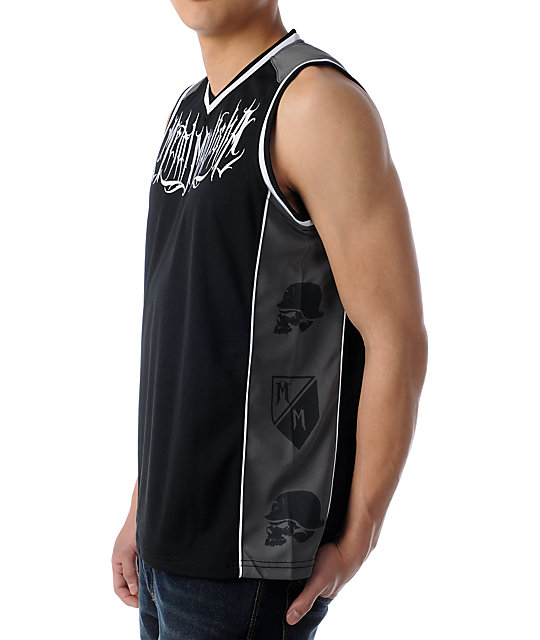Metal Mulisha Gallery Black Jersey