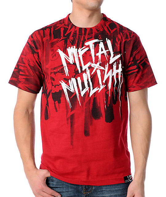 Metal Mulisha Harm Red T-Shirt