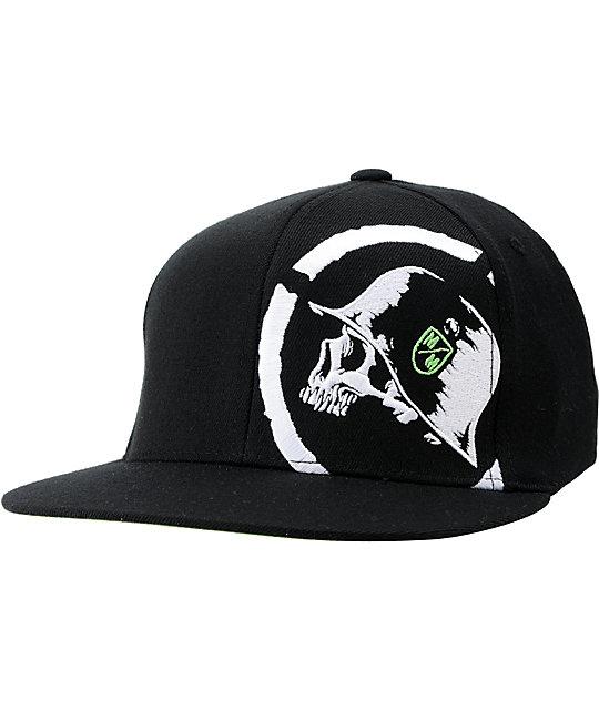 Metal Mulisha Harsh Black Flexfit Hat