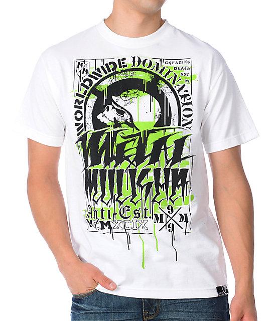 Metal Mulisha Haste White T-Shirt
