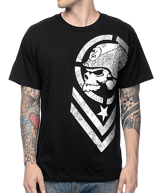 Metal Mulisha Hazy Black T-Shirt