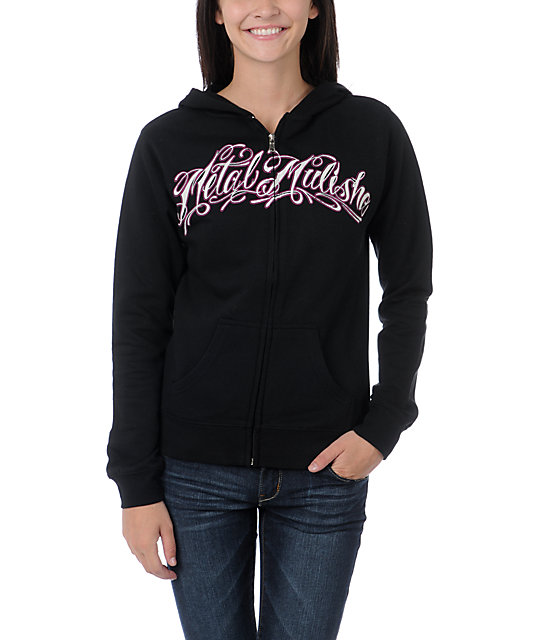 Metal Mulisha In Step Black Zip Up Hoodie