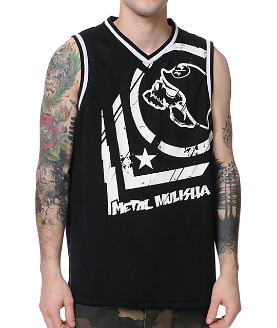 Metal Mulisha Invade Mesh Black Tank Top