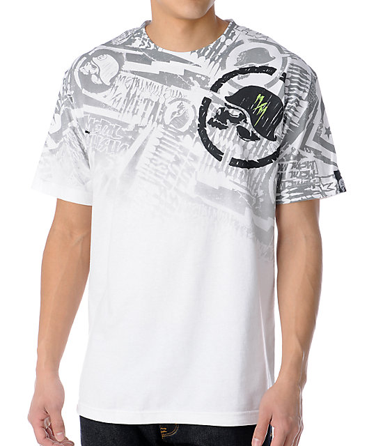 Metal Mulisha Jolt White T-Shirt