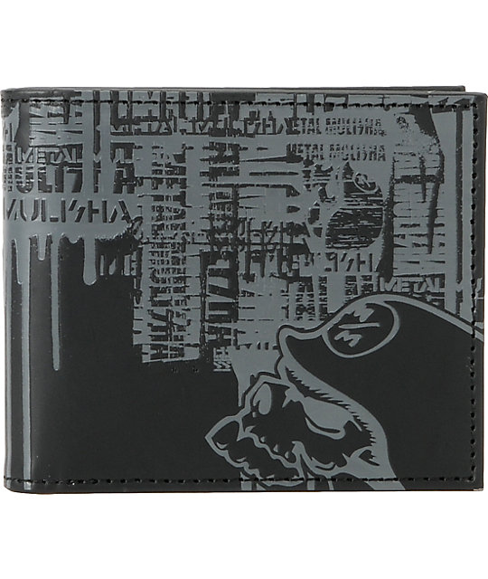 Metal Mulisha Landslide Black Bifold Wallet
