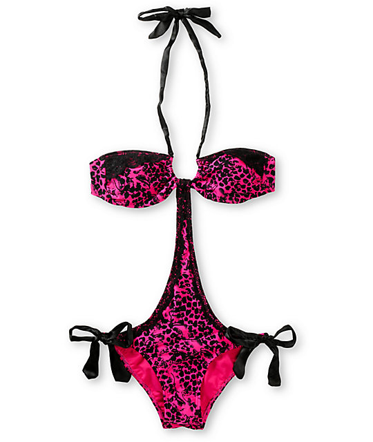 Metal Mulisha Leo Monokini Swimsuit