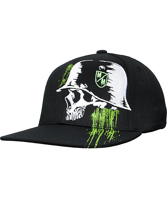 Metal Mulisha Meager Black Hat
